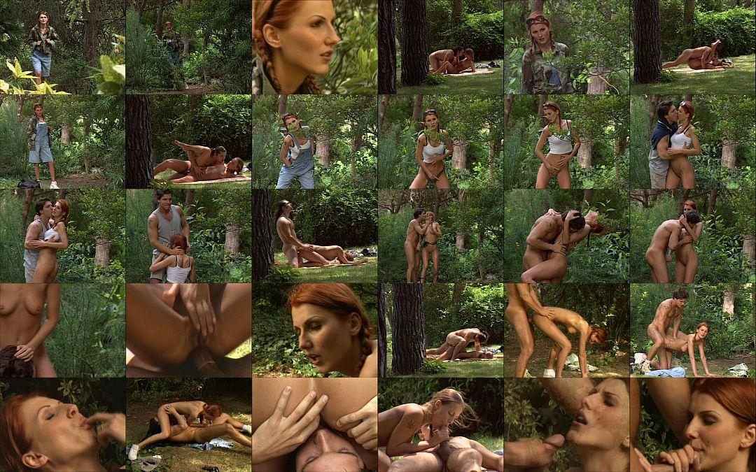 порнофильмы про лес