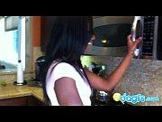 Picture Black cam slut Ana fucked in the kitchen