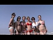 Picture Senior trip girls on the beach skinny dippin