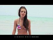 Picture Bikini clad brunette Michelle Bella is fucke...