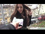 Picture Russian brunette Milf earns fast cash by fla...