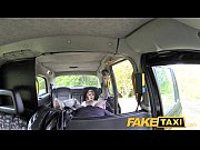 Picture Fake Taxi Hot Young Girl 18+ in red dress an...