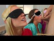Picture Blindfolded cfnm babe Natalia Starr bj