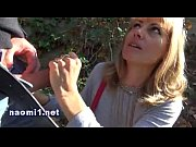 Picture Public park blowjob for Naomi