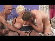 Picture Big tits Keira Taking Two Cock