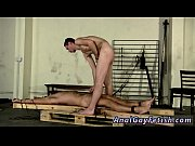 Picture Gay twink bondage tgp Made To Suck His First...