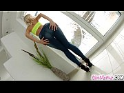 Picture GiveMePink Horny blonde masturbates with lot...