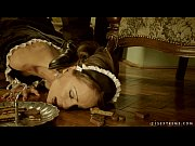 Picture Clumsy Maid Sophie Lynx punished by her lord