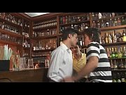 Picture Horny Gay Threesome At The Bar