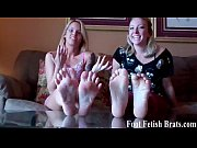 Picture Ashley begs to worship Cherrys feet
