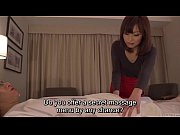 Picture Subtitled CFNM Japanese hotel milf massage l...