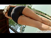Picture Asstraffic Sophie Lynx teases by the pool be...