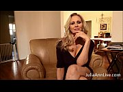 Picture Busty Blonde Milf Julia Ann Fingers her Puss...