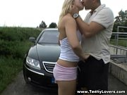 Picture Adult Girl Lovers - Sporty blonde outdoor fu...