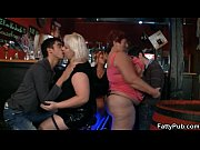 Picture Fat chicks have fun in the bar