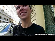 Picture Natural Czech girl is paid cash to take a hu...