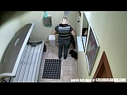 Picture Hidden Camera in Public Tanning Bed