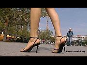 Picture Black stiletto sandals