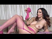 Picture Jelena Jensen Masturbates with Pink Heels
