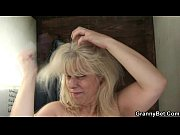 Picture Blonde granny gets screwed by a stranger