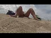 Picture Exposed Pussy at The Beach Voyeur Cam