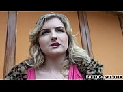 Picture European Jemma Valentine picked up and raile...