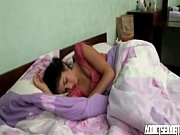 Picture Sleeping Young Girl 18+ sister enjoying morn...