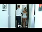 Picture PureMature - Delivery guy is welcomed by big...