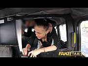 Picture Fake Taxi Big natural bouncing tits brunette...