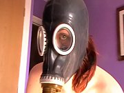 Picture My kinky escort in her gasmask
