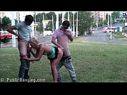 Picture Extreme PUBLIC threesome sex with 3 20y-Girl
