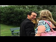 Picture French blonde mom sucks a slim guy in gets a...