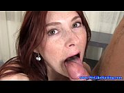 Picture Blowjob loving brunette amateur sucks dick