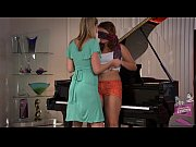 Picture Samantha Ryan and Allie Haze at the Piano