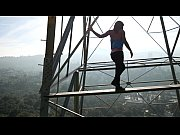 Picture Felicity Feline ass and climbing towers in l...