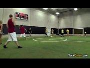 Picture Coed Strip Dodgeball At University Gymnasium