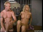 Picture Hot blonde fucks a prisoner in her prison