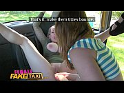 Picture Female Fake Taxi Wild lesbians share a massi...