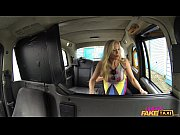 Picture Female Fake Taxi Shocked Firemans hose gets...
