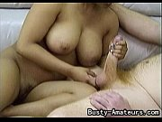 Picture Busty amateur Precious on her first blowjob