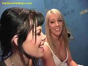 Picture Two White Babes at a Glory Hole