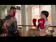 Picture EuroTeen-Petite female boxer with ultra tigh...