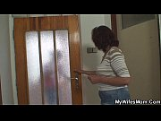 Picture She gets shocked when finds mother inlaw rid...