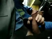 Picture Allowed to masturbate in taxi