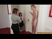 Picture Brit femdom Lexi Lou and co jerk guy off
