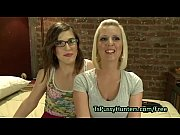 Picture Blonde throat and boobs fucked by tranny