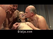 Picture 20 years men gang bang nasty young blonde