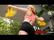 Picture Strawberry blonde Young Girl 18+ cheerleader...