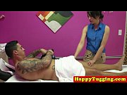 Picture Real asian masseuse pampering customer