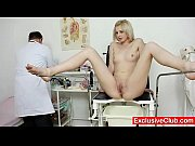 Picture Slim blonde Mia Hilton kinky vagina medical...